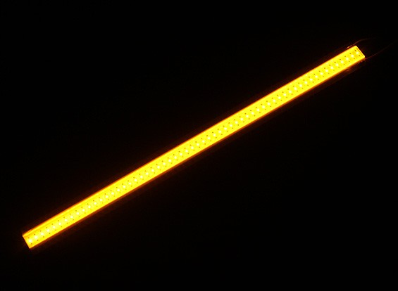 5W Yellow LED Alloy Light Strip 120mm x 10mm (2S-3S Compatible)