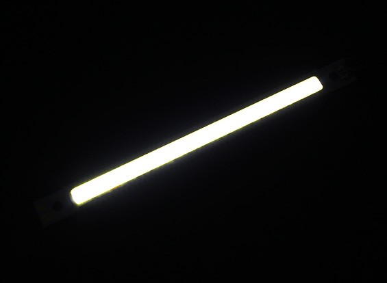 3W White LED Alloy Strip 120mm x 12mm (3s Compatible)