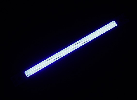 3W Blue LED Alloy Strip 120mm x 12mm (3s Compatible)