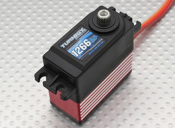 Turnigy™ 1266HV Titanium HV/DS/MG Servo 25T 1kg / 0.08sec / 57g