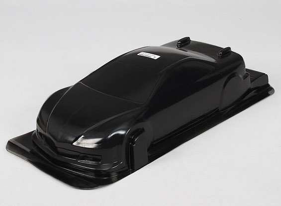 1/10 CR-6R Body Shell w/Decals (Black)