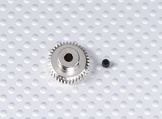 37T/3.175mm 64 Pitch Steel Pinion Gear