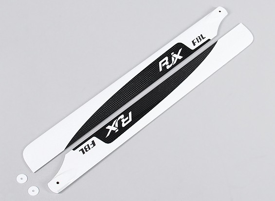 430mm Flybarless High Quality Carbon Fiber Main Blades