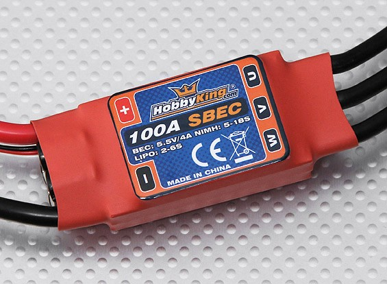 HobbyKing 100A ESC 4A UBEC