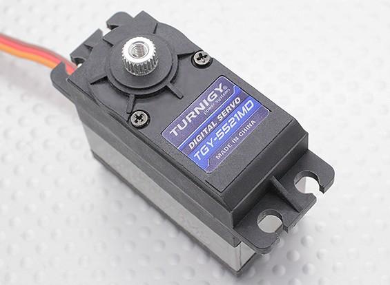Turnigy™ TGY-5521MD DS/MG Servo 25T 21kg / 0.14sec / 57.5g
