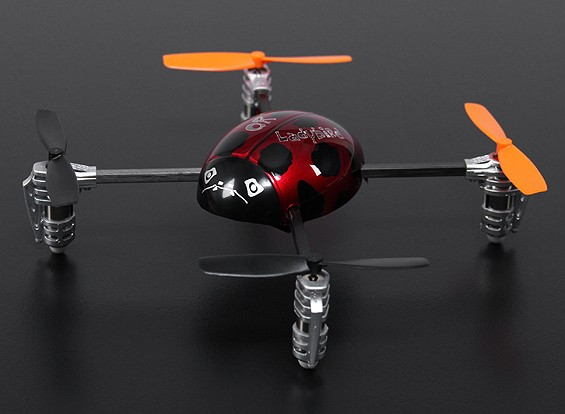 Walkera QR Ladybird Ultra Micro Quadcopter RTF (Mode 2)