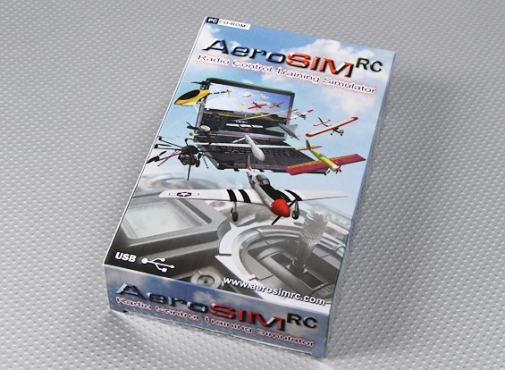 AeroSIM RC Multi-Function Flight Simulator System