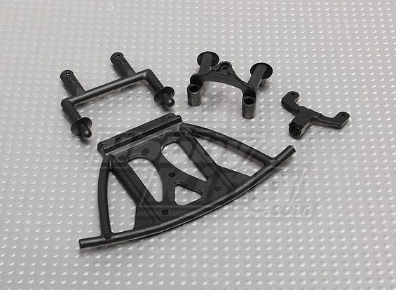 Body Support and Hoder, Front Bumper - A2035