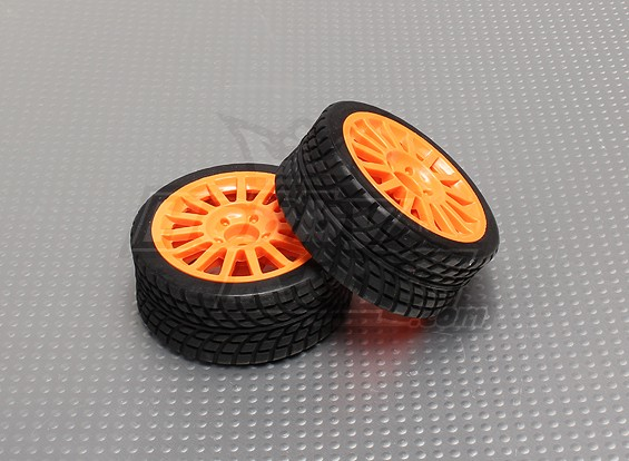 Tire Sets with Orange Wheel - A2029-33328