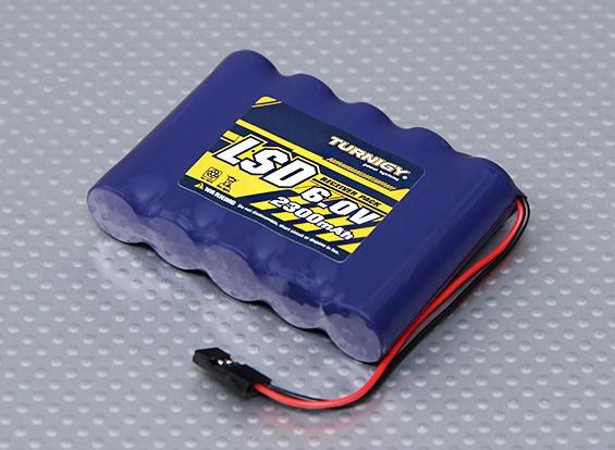 Turnigy Receiver Pack 2300mAh 6.0v NiMH