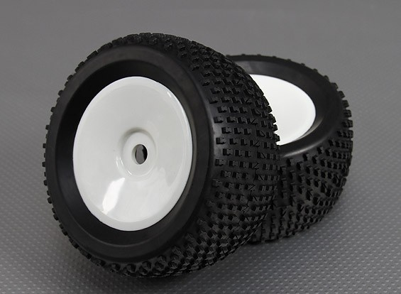 1/8 Buggy 3.4 (offset) Wheel/Tire 17mm Hex (2pcs/bag)