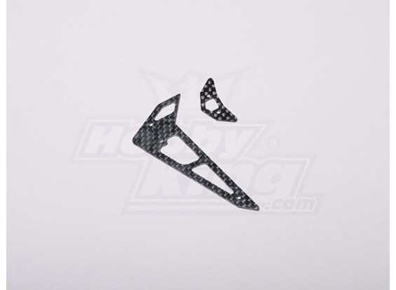 HK-250GT CF Horizontal/Vertical Tail Fin
