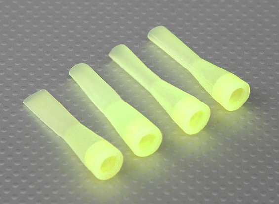 Silicone Shock Boot (Yellow) (4Pcs/Bag)