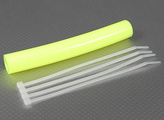 Silicone Exhaust Coupler Tubing 152x13.5mm (Yellow)