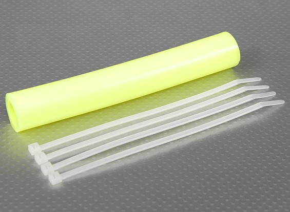 Silicone Exhaust Coupler Tubing 152x15mm (Yellow)
