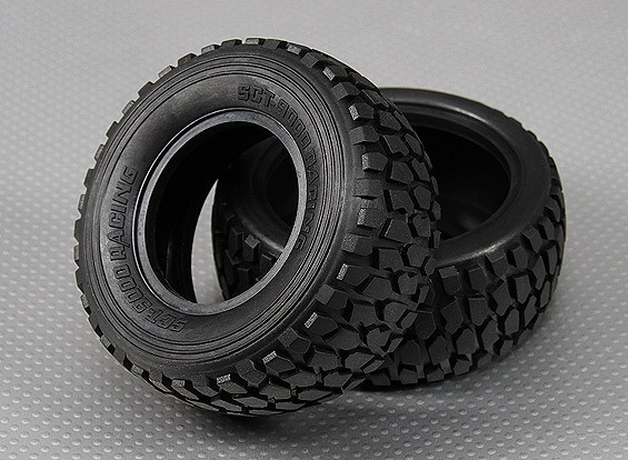 Tire 1/10 Turnigy 4WD Brushless Short Course Truck (2pcs/Bag)