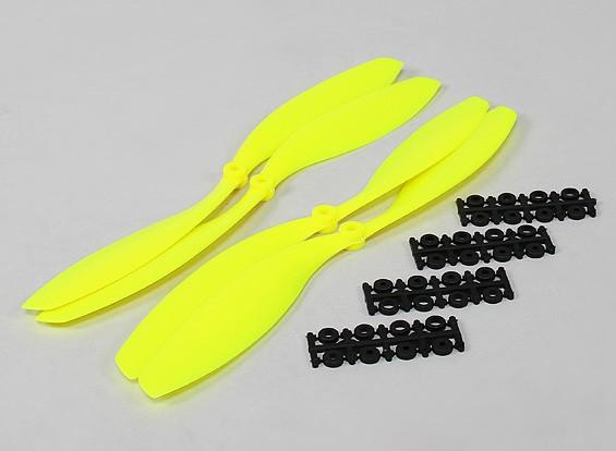 12x4.5 SF Props 2pc Standard Rotation/2 pc RH Rotation (Flouro Yellow)