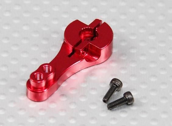 Heavy Duty 23T Aluminum Servo Arm - JR & KO (Red)