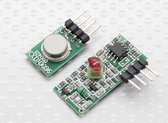 315RF Wireless Transmitter Module and Wireless Receiver Module