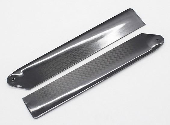 107mm Carbon Fiber Main Blades for FBL100/MCPX Helicopter (2pcs/bag)