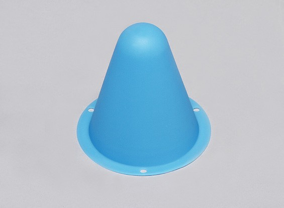 Plastic Racing Cones for R/C Car Track or Drift Course - Blue (10pcs/bag)