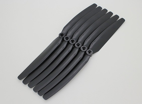 GWS EP Propeller (DD-1060 254x152mm) black (6pcs/set)