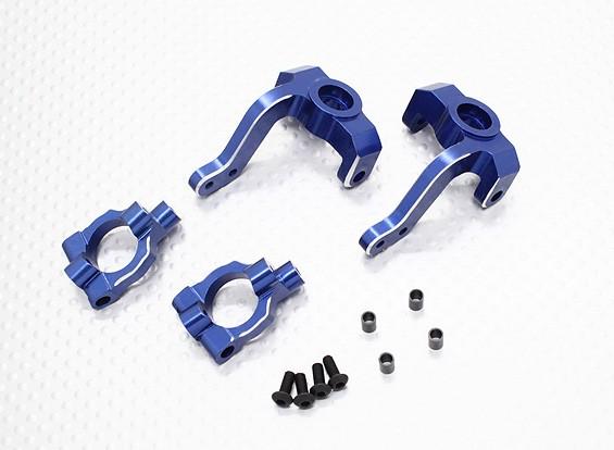 Aluminium Steering Arm and Knuckle Set - 1/10 Quanum Vandal 4WD Racing Buggy