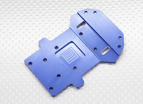 Aluminium Front Lower Chassis Plate - 1/10 Quanum Vandal 4WD Racing Buggy