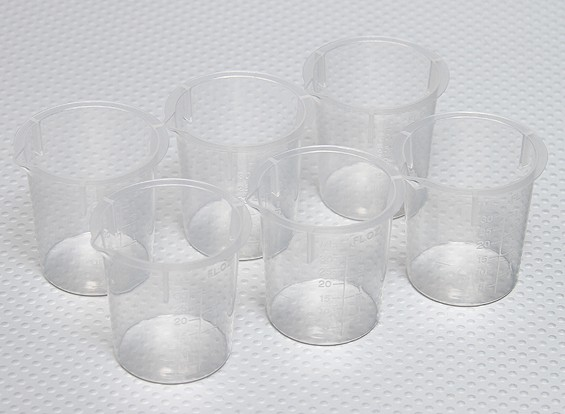 Hobby Measuring Cup (6pcs)