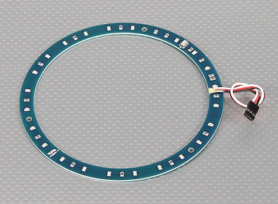 LED Ring 145mm Green w/10 Selectable Modes