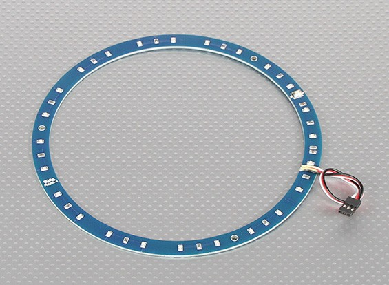 LED Ring 165mm Green w/10 Selectable Modes