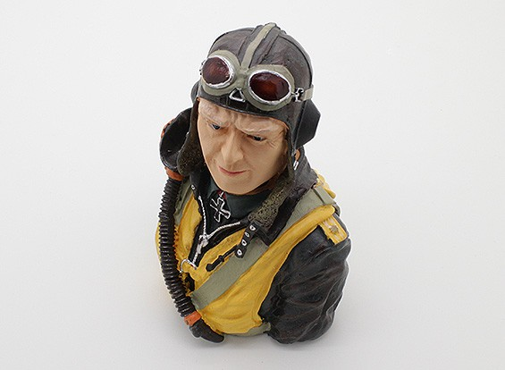 Highly Detailed Model Pilot (H115 x W94 x D68mm)