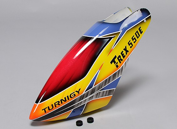 Turnigy High-End Fiberglass Canopy for Trex/HK 550E