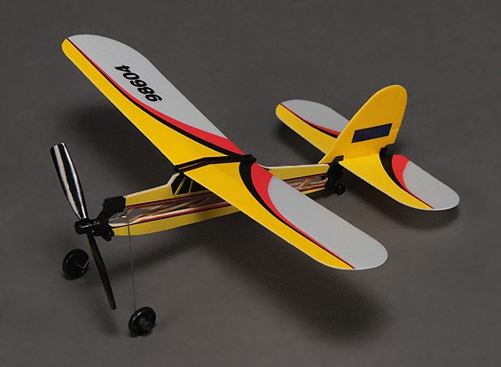 Rubber Band Powered Freeflight Super Pup 292mm Span