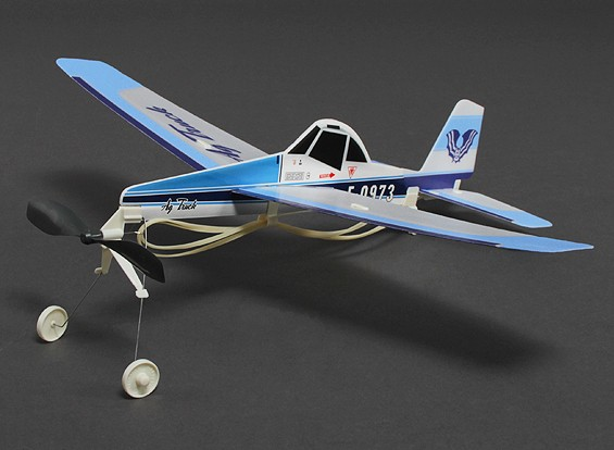 Rubber Band Powered Freeflight Ag Truck 480mm Span
