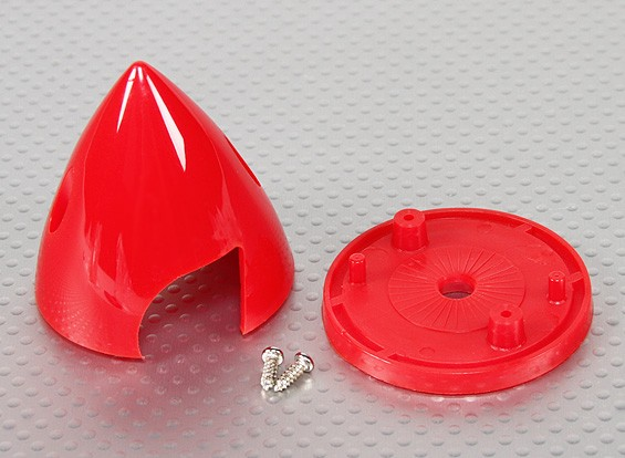 "Plastic Spinners 2"" Red"
