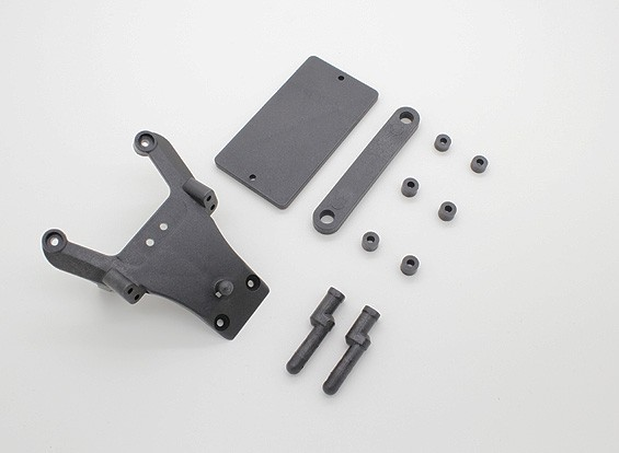 Front Shock Tower Holder and Battery Cover Plate - A2032