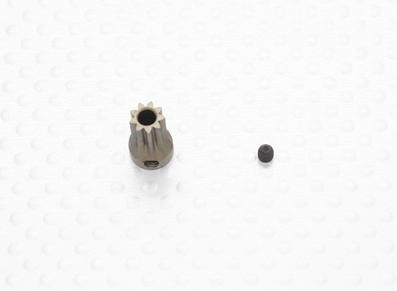 """""""Hard One"""" 0.5M Hardened Helicopter Pinion Gear 3.17mm Shaft - 9T"""