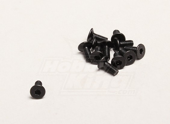 M3x8mm Hex Screw (12pcs/bag) - Turnigy Trailblazer XB and XT 1/5