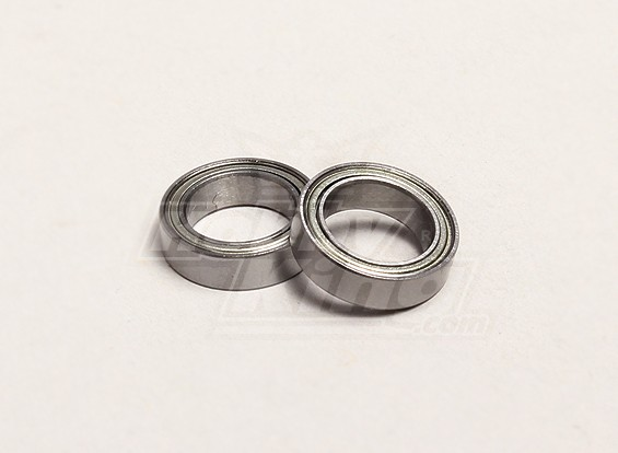Ball Bearing 10x15x4mm (2pcs/bag) - Turnigy Trailblazer 1/8, XB and XT