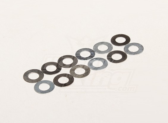 Washer A 5.2x10x0.2mm (12pcs/bag) - Turnigy Trailblazer 1/8, XB and XT
