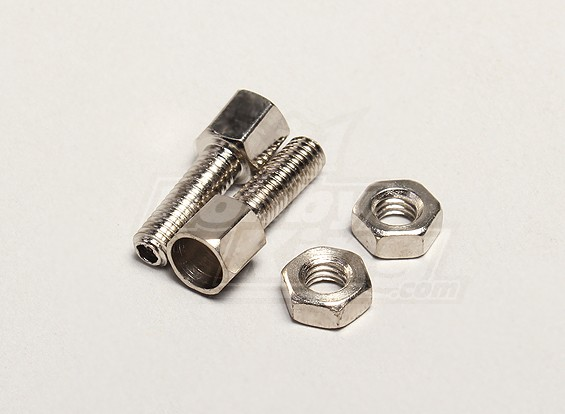 Front Brake Screw and Outer M4 Nut (2set) - Turnigy Twister 1/5