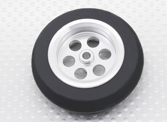 Turnigy Scale Jet Alloy Wheel 54mm w/Rubber Tire