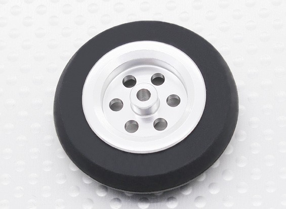 Turnigy Scale Jet Alloy Wheel 39mm w/Rubber Tire