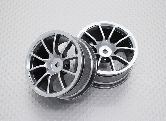 1:10 Scale High Quality Touring / Drift Wheels RC Car 12mm Hex (2pc) CR-12CS