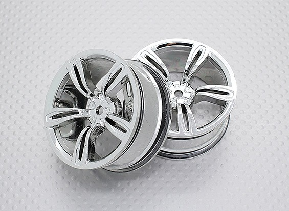 1:10 Scale High Quality Touring / Drift Wheels RC Car 12mm Hex (2pc) CR-M5C