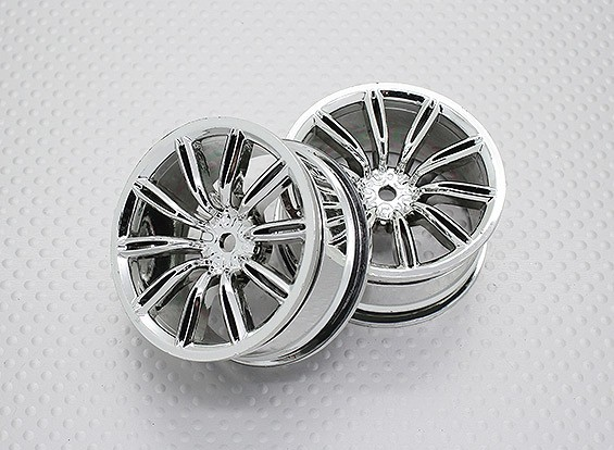 1:10 Scale High Quality Touring / Drift Wheels RC Car 12mm Hex (2pc) CR-VIRAGEC