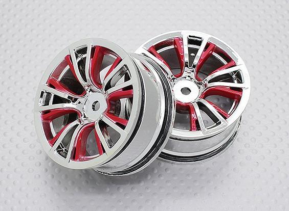 1:10 Scale High Quality Touring / Drift Wheels RC Car 12mm Hex (2pc) CR-BRR