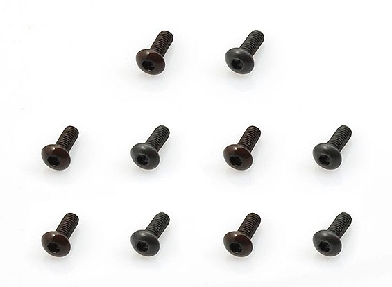 TM Screws (M3*8mm) - 1/10 Turnigy GT-10X Pan Car (10pcs)