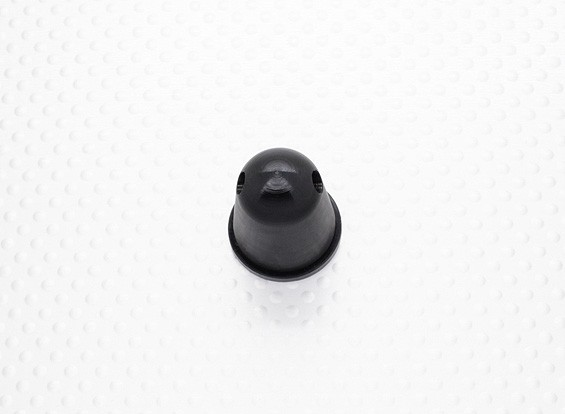 Prop Nut/Spinner 22mm Alloy M6x1.00 Anodised Black